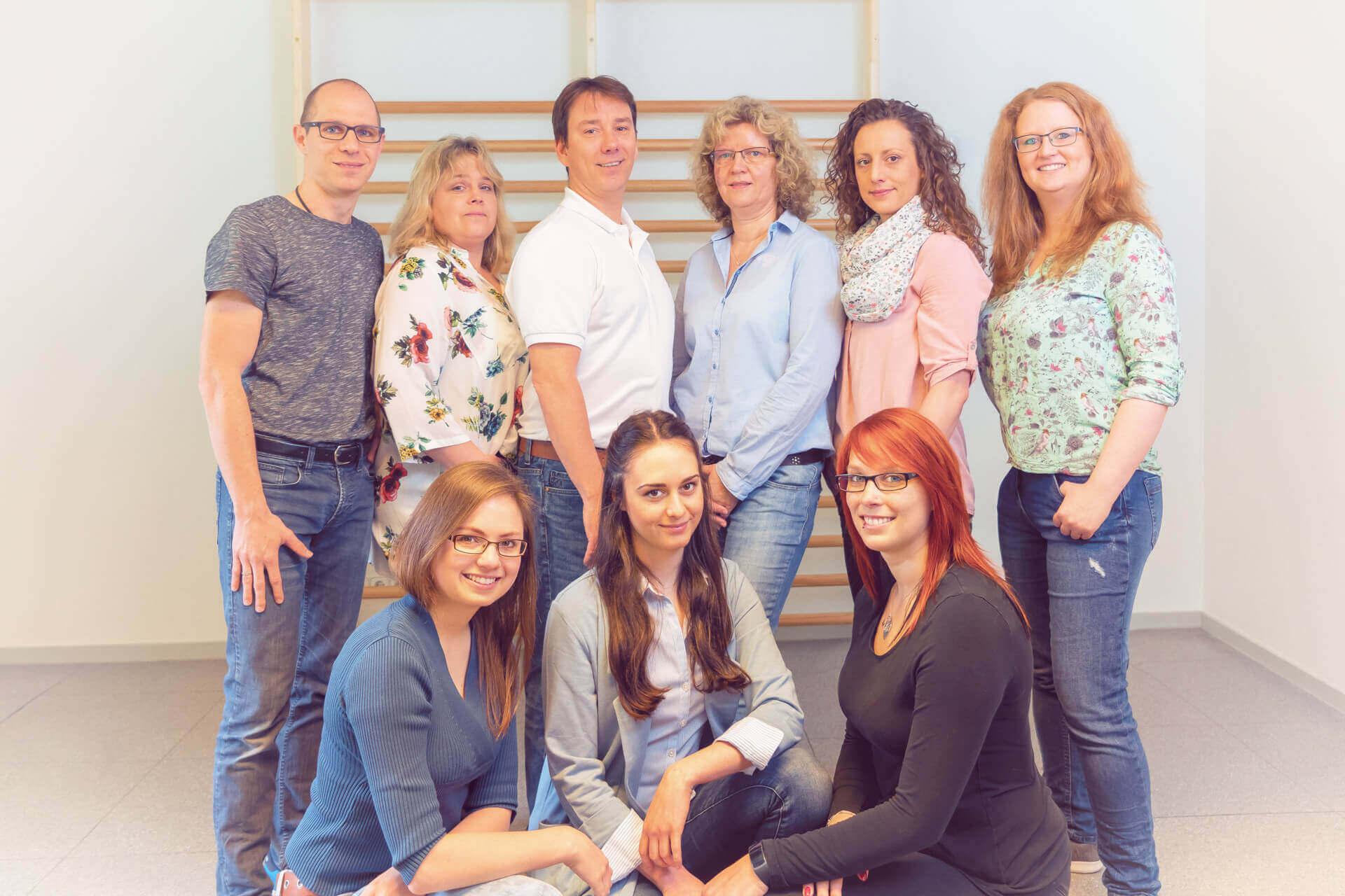 Physiotherapie Grevenbroich Team Sonderfeld